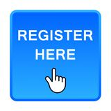 Register here button royalty free illustration