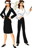 Relentless Business Women Royalty Free Stock Photo
