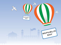 Vector illustration of Republic Day. Stock Photos