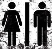 Vector illustration restroom Stock Image