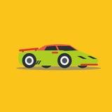 Vector illustration retro car. Cartoon of illustration fast car Royalty Free Stock Photography
