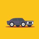 Vector illustration retro car. Cartoon of illustration fast car Stock Images