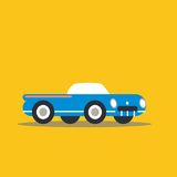 Vector illustration retro car Royalty Free Stock Images