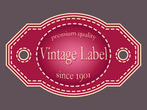 Vector illustration of retro labels. Illustration labels in vintage style vector illustration