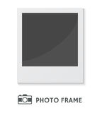 Vector Illustration Retro Photo Frame. Detailed vector illustration of a retro photo frame  on white background Stock Photos