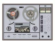 Vector illustration of retro tape recorder Stock Photos