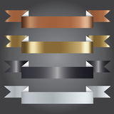 Vector Illustration, Ribbon Symbol for Creative Work Royalty Free Stock Images