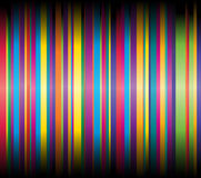 Vector illustration with ribbons. Royalty Free Stock Images