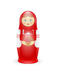 Russian Matreshka Royalty Free Stock Photography