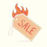 Vector illustration of sale Royalty Free Stock Images
