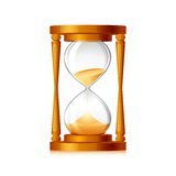 Vector Hourglass Royalty Free Stock Images
