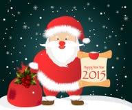 Vector Illustration of Santa Claus Stock Photo