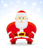 Vector Illustration of Santa Claus Royalty Free Stock Photos