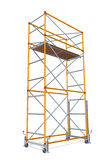 Vector Illustration Of Scaffolding Stock Photo