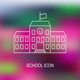 Vector illustration of school Stock Images