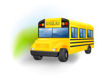 School Bus. Vector illustration of  a school bus Royalty Free Stock Photography
