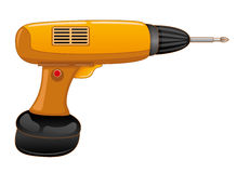 Vector illustration. Screwdriver. Royalty Free Stock Photography