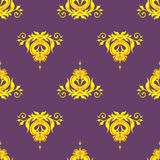 Vector Illustration Seamless Background Monogram Royalty Free Stock Photo