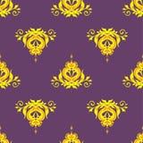Vector illustration seamless background monogram Royalty Free Stock Photo