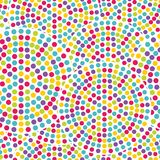 Seamless dot pattern Stock Photos