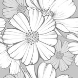 Floral Seamless Pattern. Vector illustration of seamless floral pattern Stock Photography