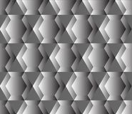 Seamless geometric pattern with hexagons Royalty Free Stock Images