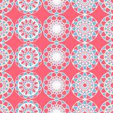 Vector illustration of seamless Islamic pattern with different ethnical ornaments. Traditional colorful design for cloths and paper. Template for national Stock Images