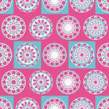 Vector illustration of seamless Islamic pattern with different ethnical ornaments. Traditional colorful design for cloths and paper. Template for national stock illustration