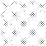 Vector illustration seamless pattern of dots Stock Photos