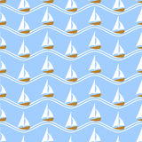 Vector illustration seamless pattern for traveling. Royalty Free Stock Photo