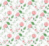Vector illustration - Seamless pattern with Royalty Free Stock Photography