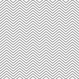 Vector illustration seamless pattern zig zag Stock Image
