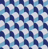 Vector illustration of a seamless repeating geometric Pattern. Royalty Free Stock Photography