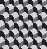 Vector illustration of a seamless repeating geometric Pattern. Royalty Free Stock Images