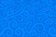 Seamless swirl. Vector illustration of seamless swirl Royalty Free Stock Photography