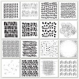 Vector illustration of a set of abstract design elements Royalty Free Stock Photos