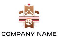 Vector illustration set of vintage soccer labels. Vector illustration set of vintage soccer football labels emblem and logo designs royalty free illustration