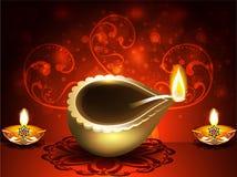 Vector illustration Shubh diwali Background Stock Photos