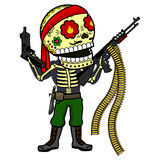 Vector illustration of skeletons Stock Photography