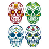 Vector illustration of skull the day of the death Stock Photo