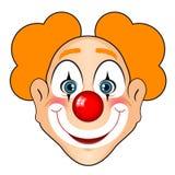 Smiling clown Royalty Free Stock Photos