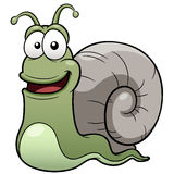 Snail cartoon Stock Image