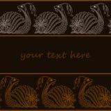 Vector illustration of Snail cartoon. Henna Mehendi style. Stock Photo