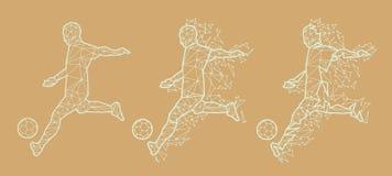 Vector Illustration Soccer Football Stock Image