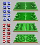 Soccer Strategy Graphic Element. Vector illustration of soccer strategy graphic element Royalty Free Stock Photography