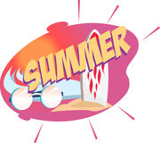 Vector illustration of a Special Summer Offer Stock Image