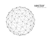 Vector illustration of sphere Royalty Free Stock Image