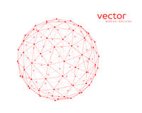 Vector illustration of sphere Stock Photography