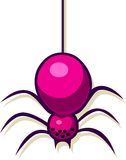 A vector illustration of a spider Royalty Free Stock Photo