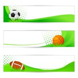 Sports Banner Royalty Free Stock Image